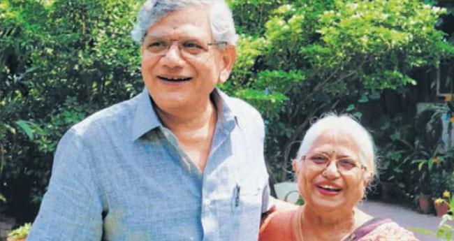 സീതാറാം യെച്ചൂരിയുടെ മാതാവ് അന്തരിച്ചു